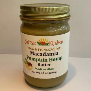 Pumpkin Hemp Macadamia Butter